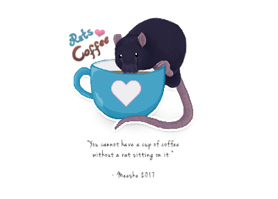 Rats and Coffee by Meeske