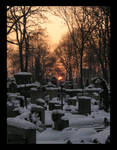 Cemetery And Sundown