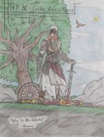 Warrior by ModernDaVinci