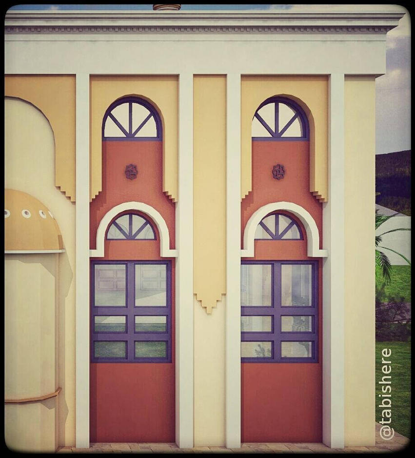 Window frame for masjid - #TabishereArt #design #m by TABishere ... : masjid door image - pezcame.com