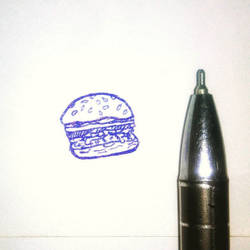 Feeling hungry! Draw it! 'coz you have no chance t