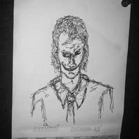 Scribbly Joker: - #TabishereArt #design #doodling