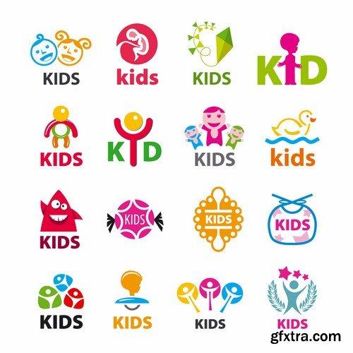 kids vector design kids logo design idea by sourovslm on