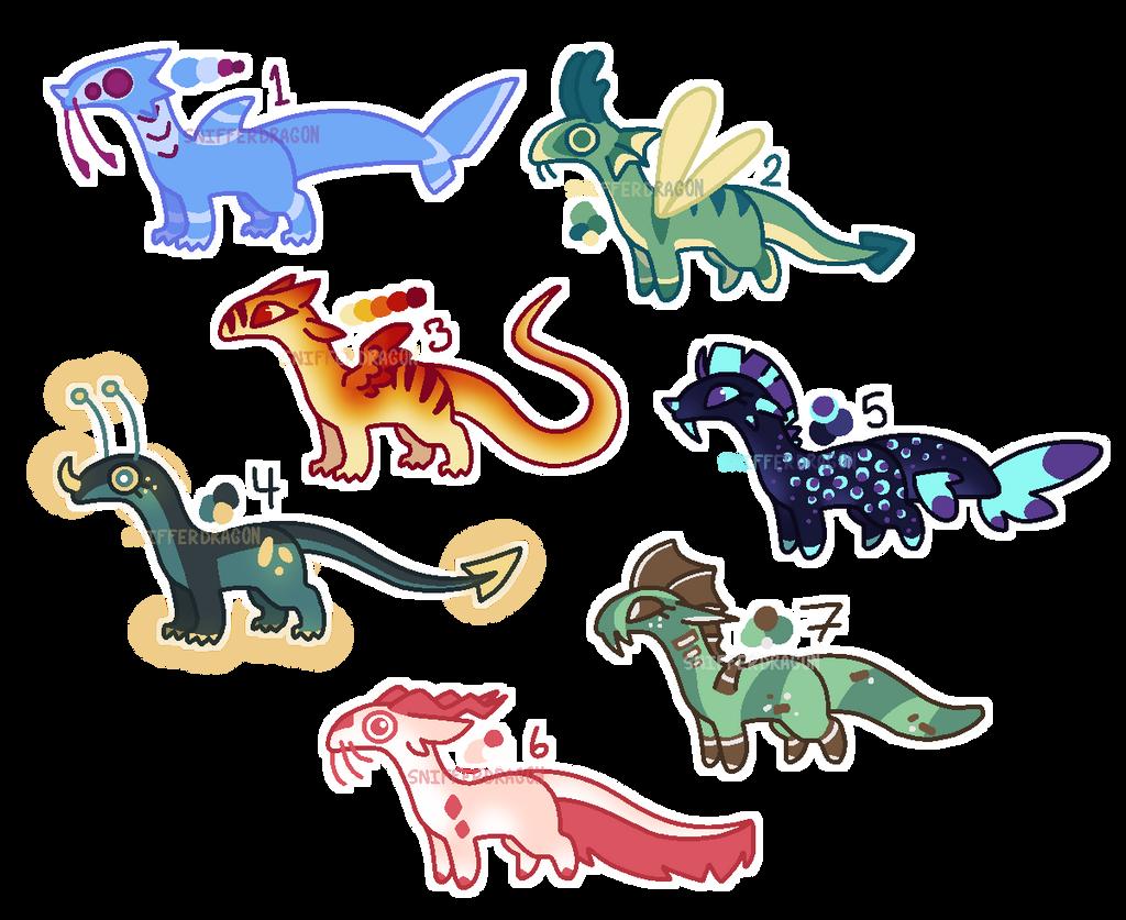 Dragon/Creature Adopts (1/7 open)