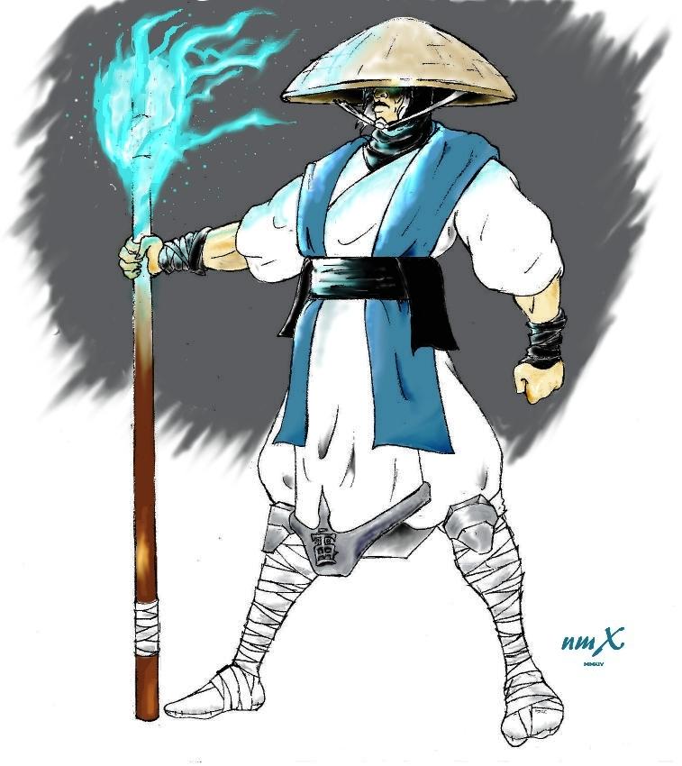 Mortal Kombat Raiden Drawings Raiden (MK Mythologies...