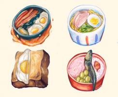 Ghibli Food by tsaakolate