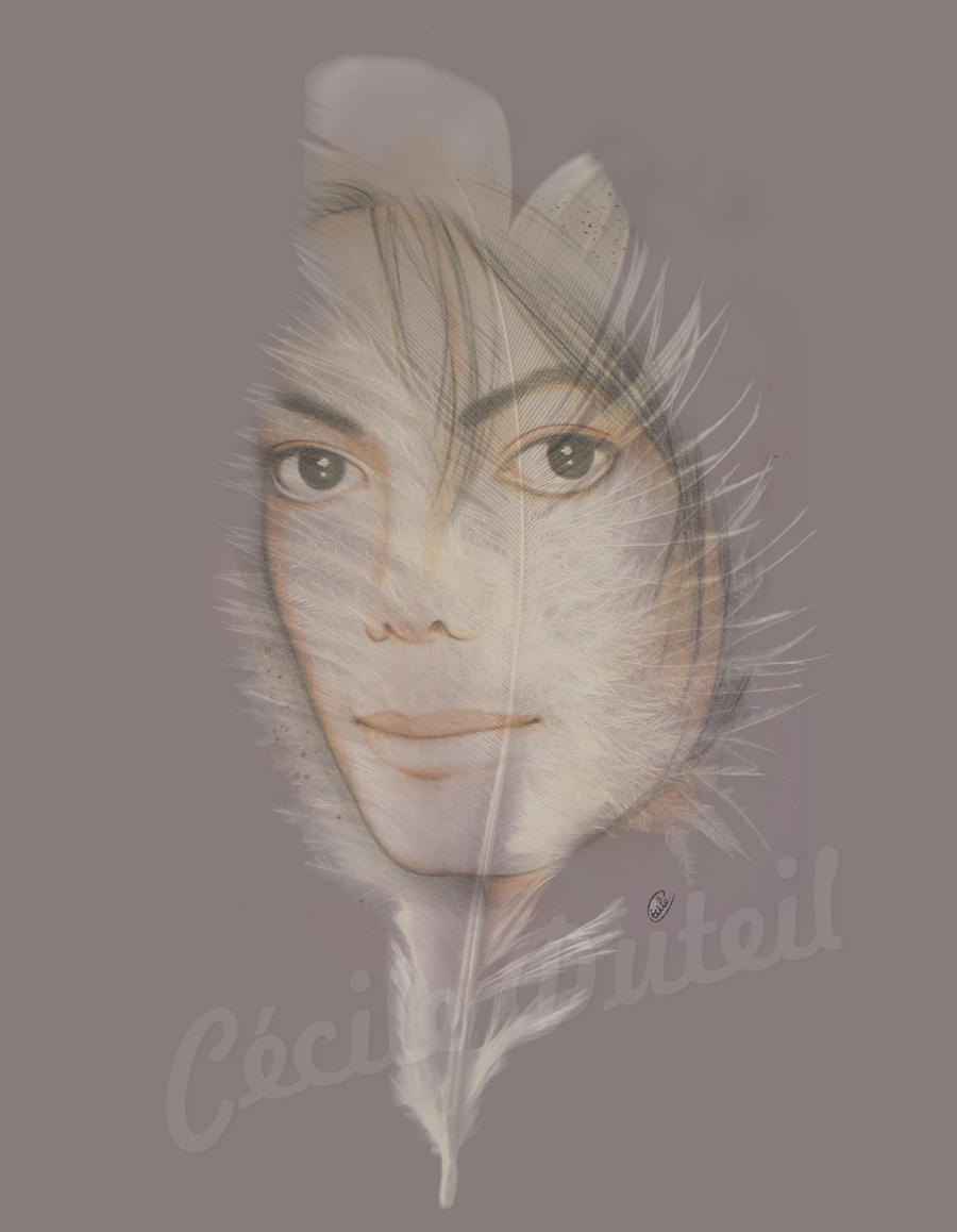 Michael Jackson - Angel's feather by CecileD73