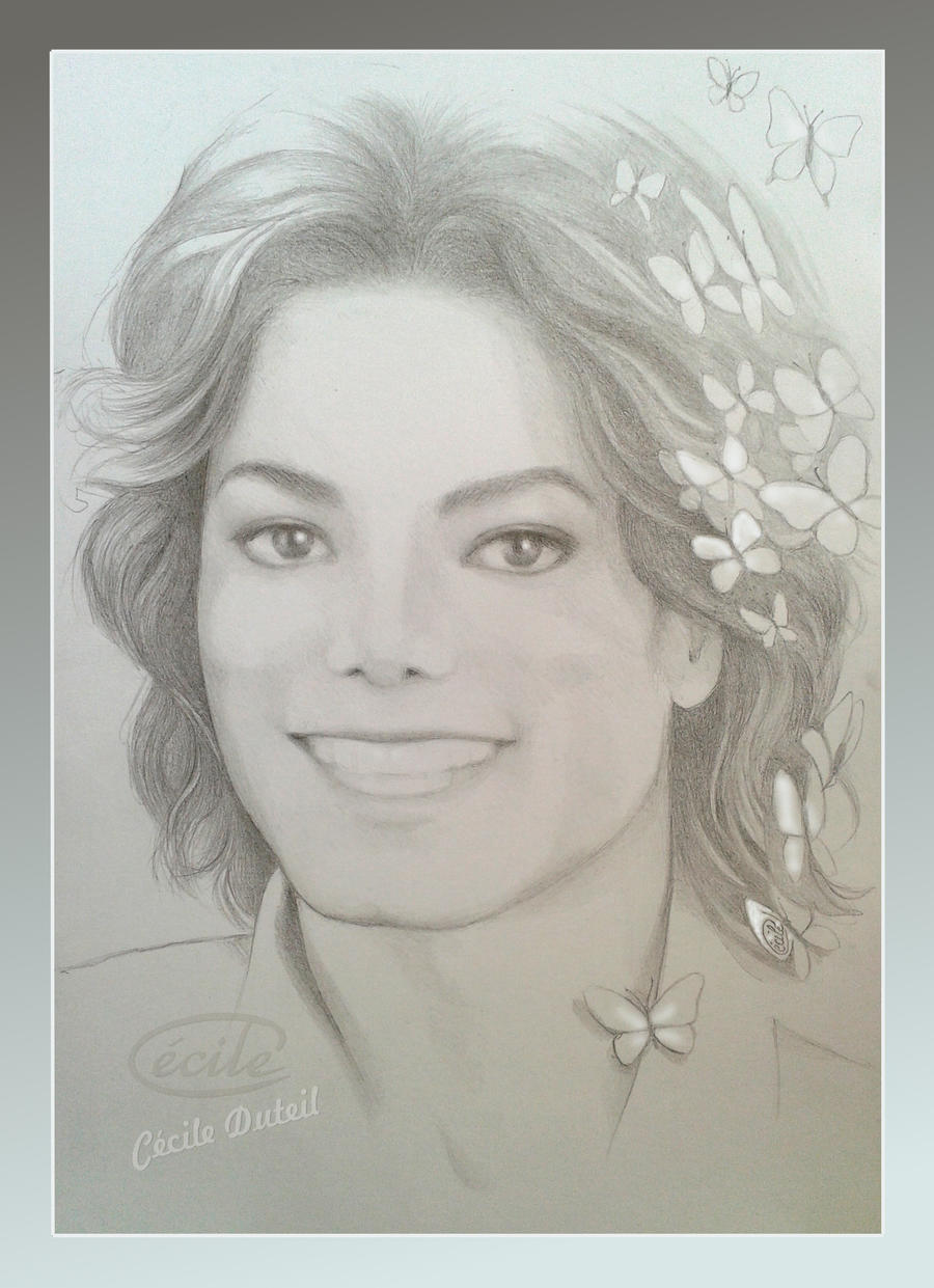 Michael Jackson - Butterflies Spirit by CecileD73