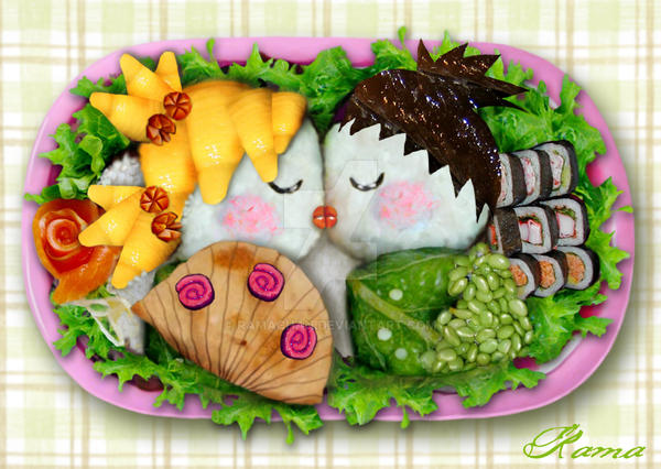 Lovely Bento by RamaChan
