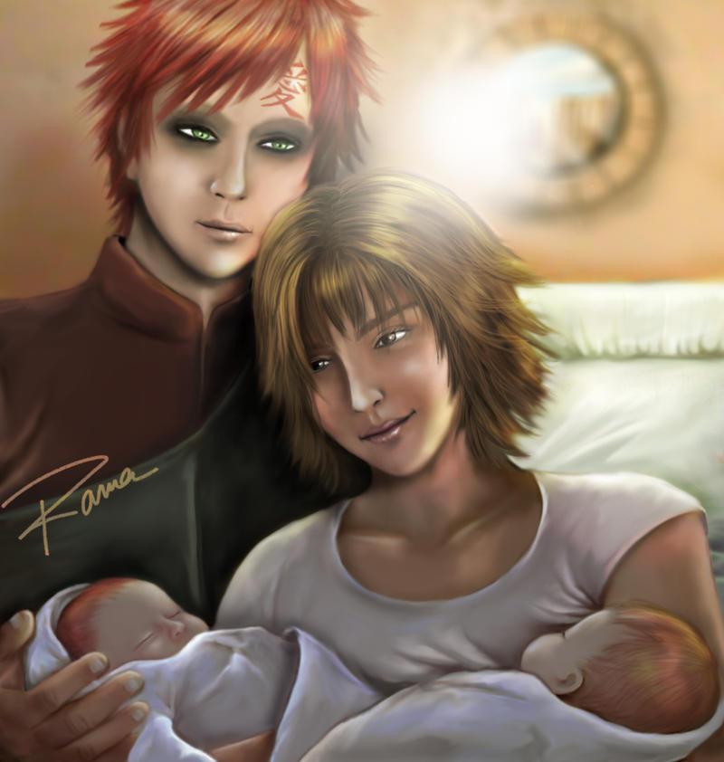gaara and matsuri family - photo #26