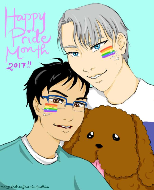 Happy Pride!! by mangoshakes