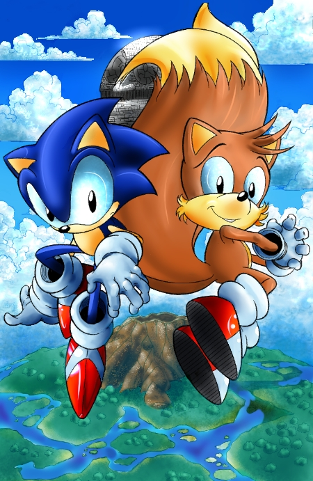 CP-01 Sonic and Tails by KikiFlamer