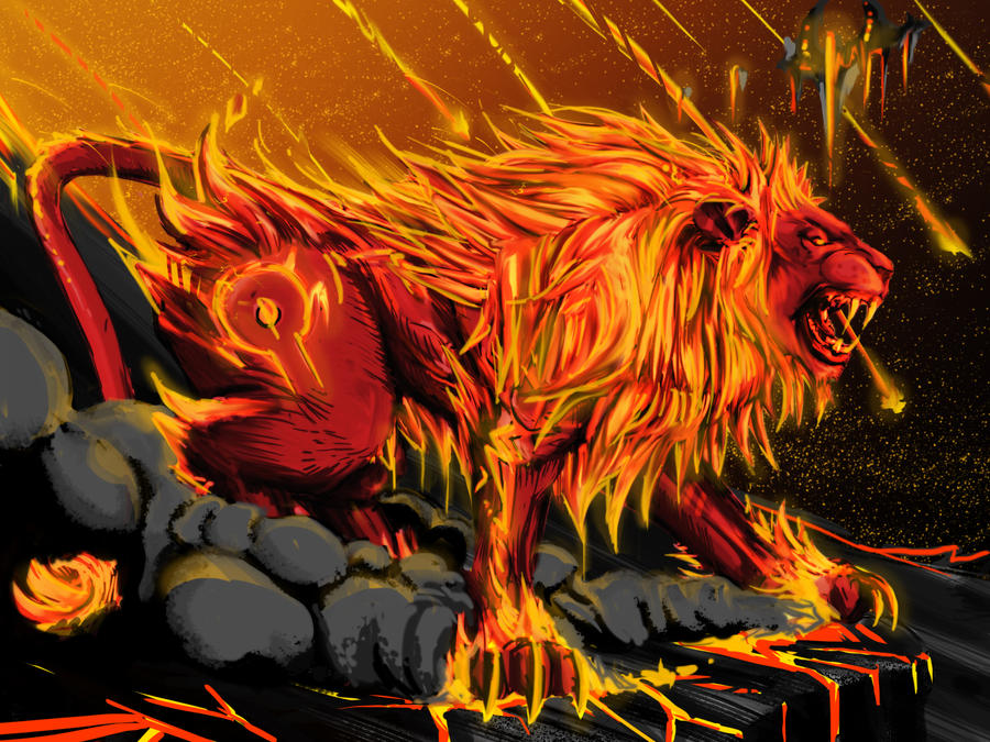 Firecat form by Original-fyah-pen on DeviantArt