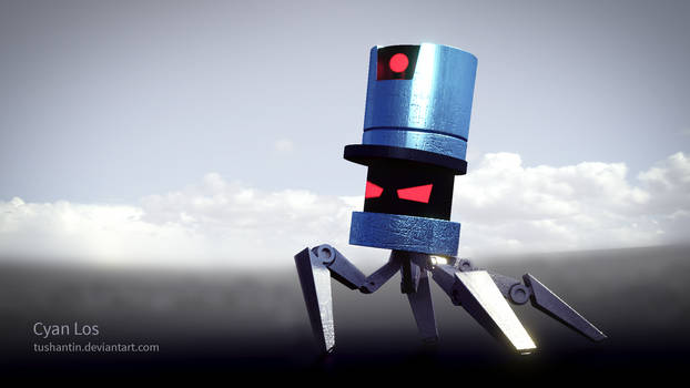 Stealth Bastard - Angry Spider Robot Thingy