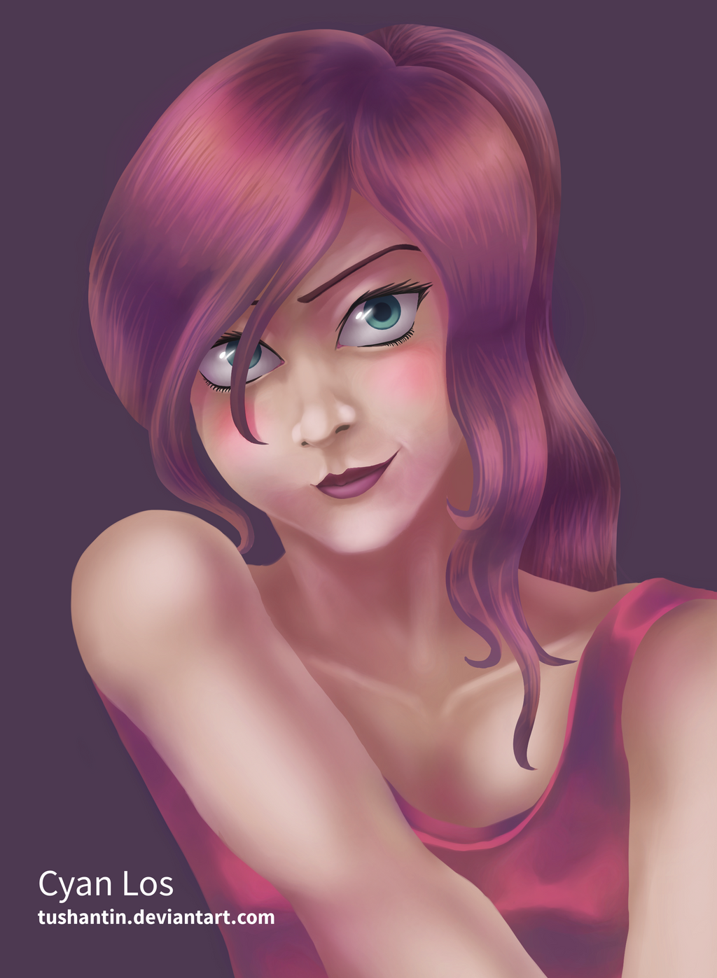Red-Haired Girl (Practice) by tushantin