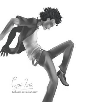 A Bit Hard To Dance (Greyscale)