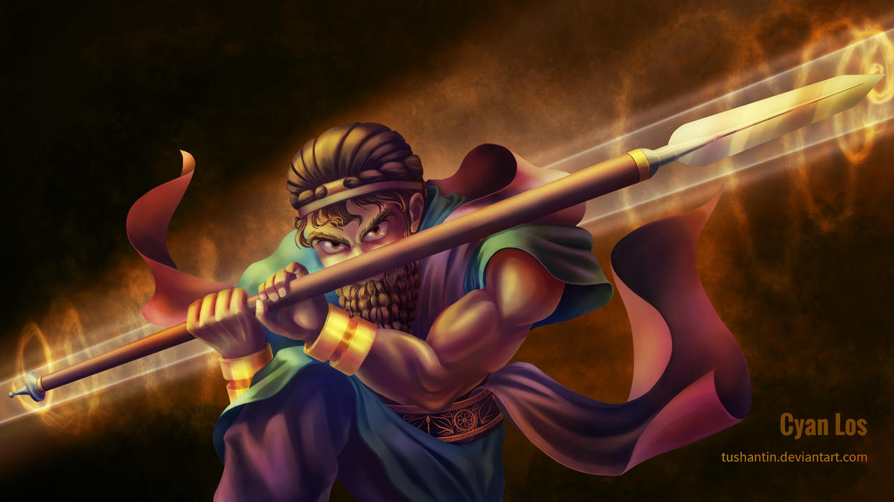 Sargon of Akkad - Spear of the True King by tushantin