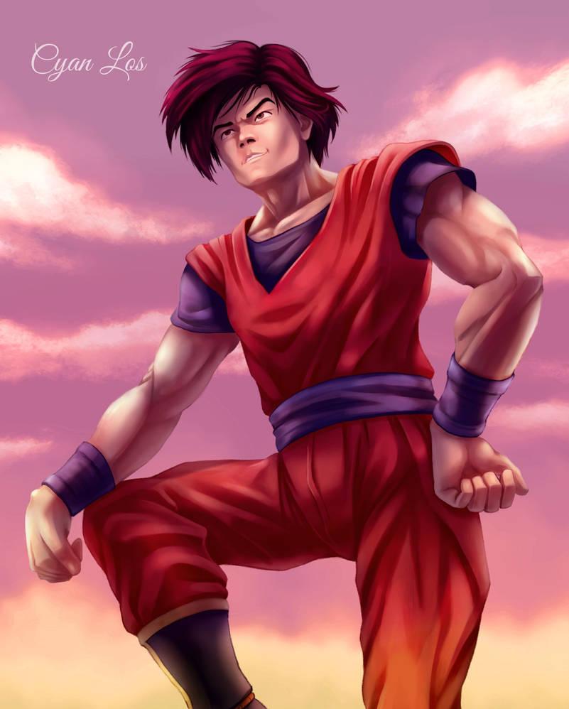 Goku (Realistic) by tushantin