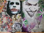 Joker Sketchbook Double Page