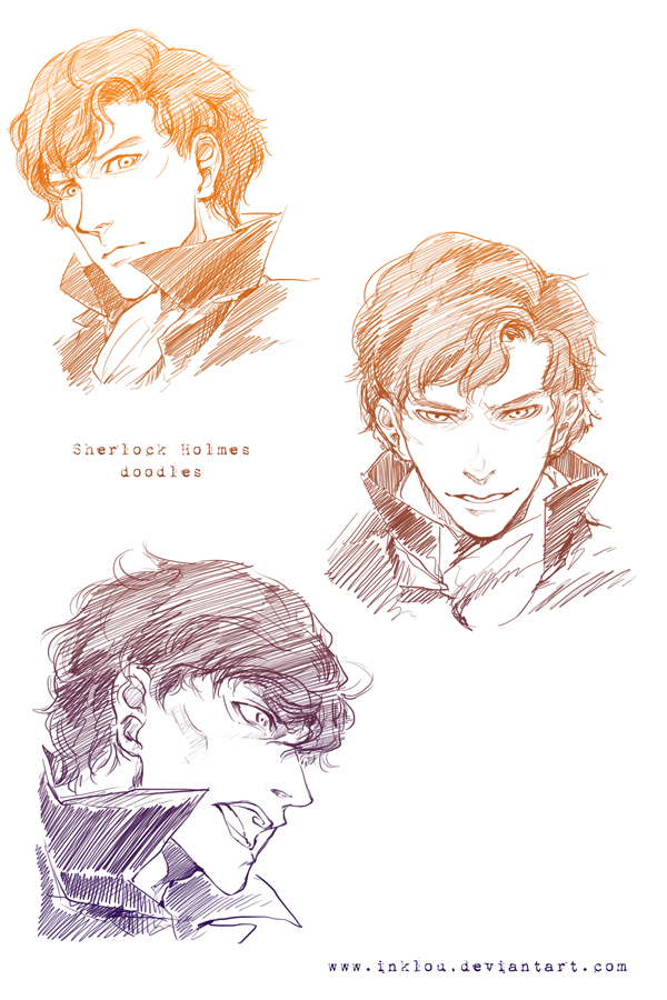 Sherlock doodle by inklou