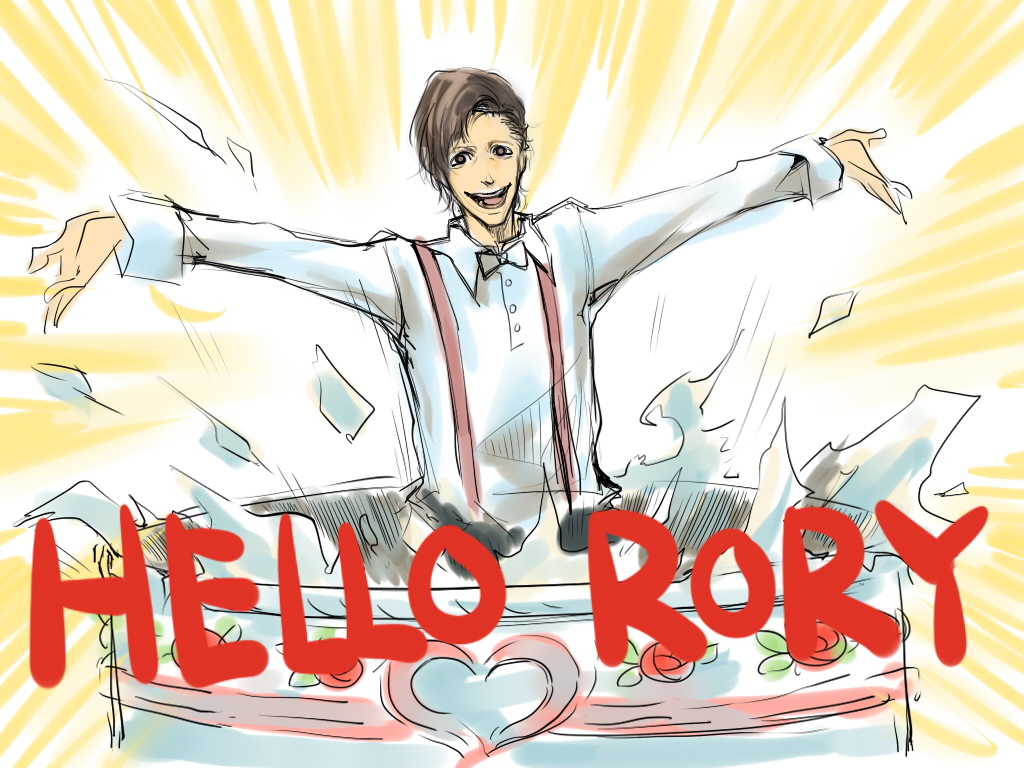 Hello Rory by inklou