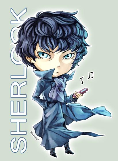 Sherlock by inklou