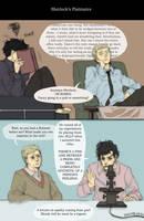 Sherlock's flatmates by inklou