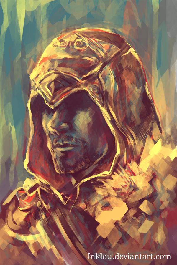 Ezio speedpaint by inklou