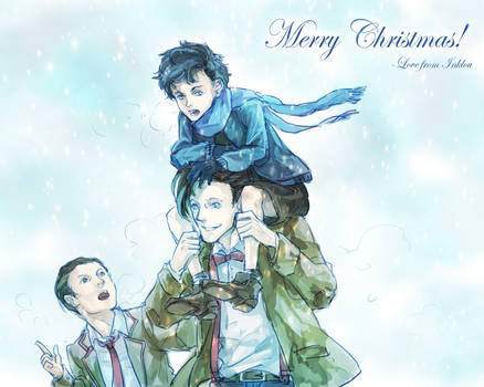 Merry Christmas by inklou