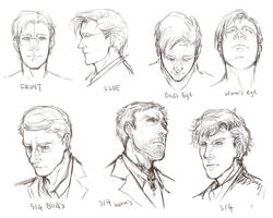 facial angles by inklou