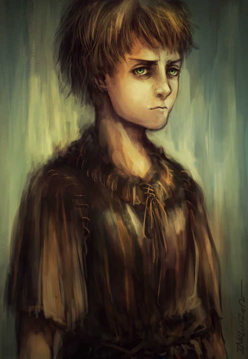 Arya Stark by inklou