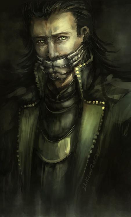 Loki by inklou