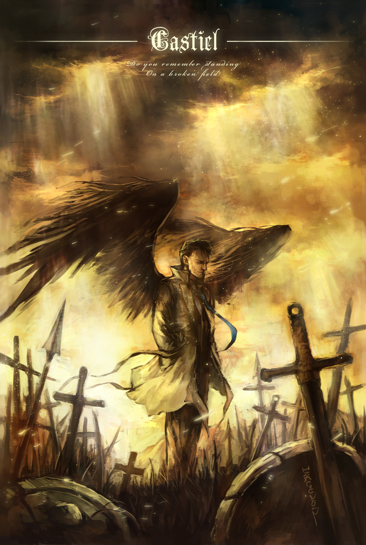 Castiel - War by inklou