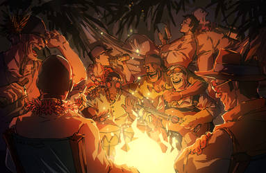 Mercenary Campfire Song Song by inklou