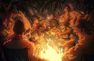 Mercenary Campfire Song Song