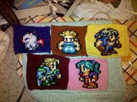 Final Fantasy VI Blanket WIP by kiaragurl