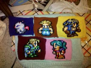 Final Fantasy VI Blanket WIP
