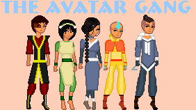 The Avatar Gang by TheBealtes