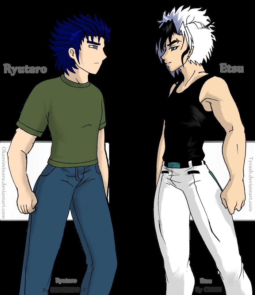 Etsu vs Ryutaro by Okamiminoru