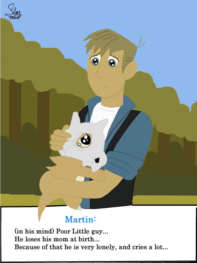 Martin Kratt and a Cubone by Okamiminoru