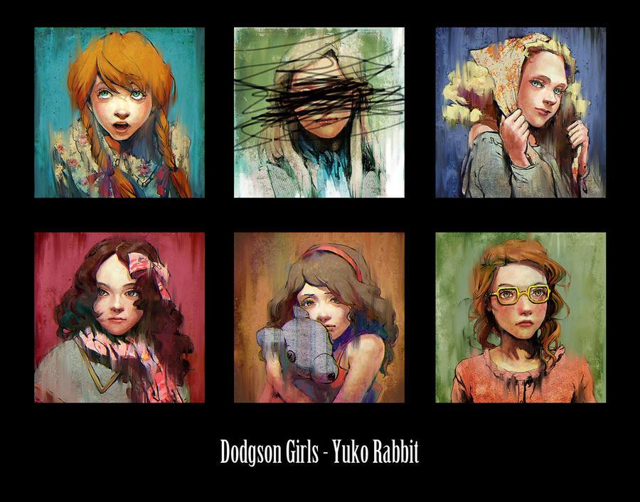 Dodgson Girls by YukoRabbit