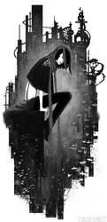 The Night City by yuko-rabbit