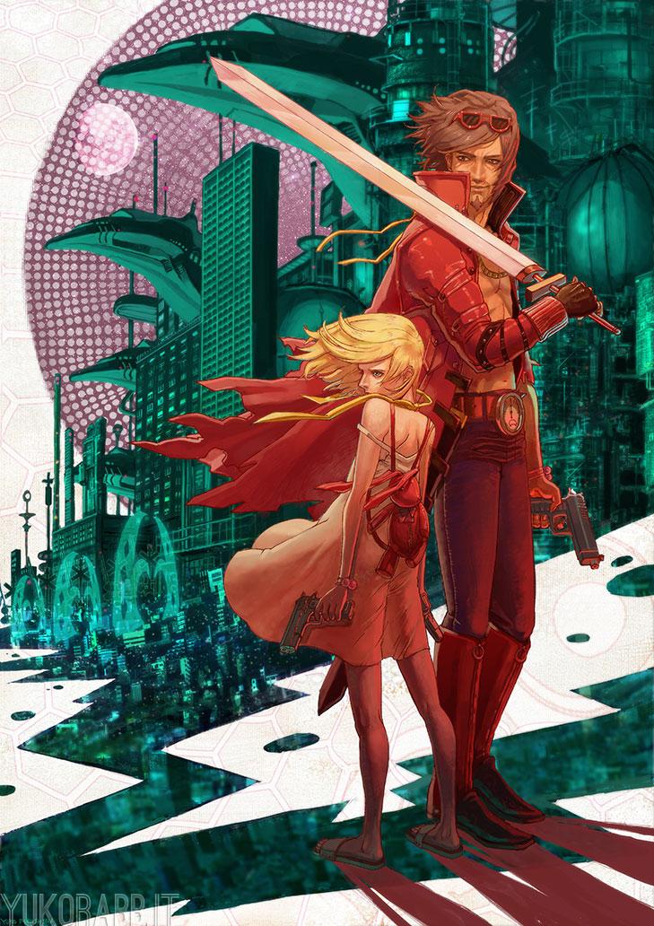 Scarlet Gunslingers by YukoRabbit