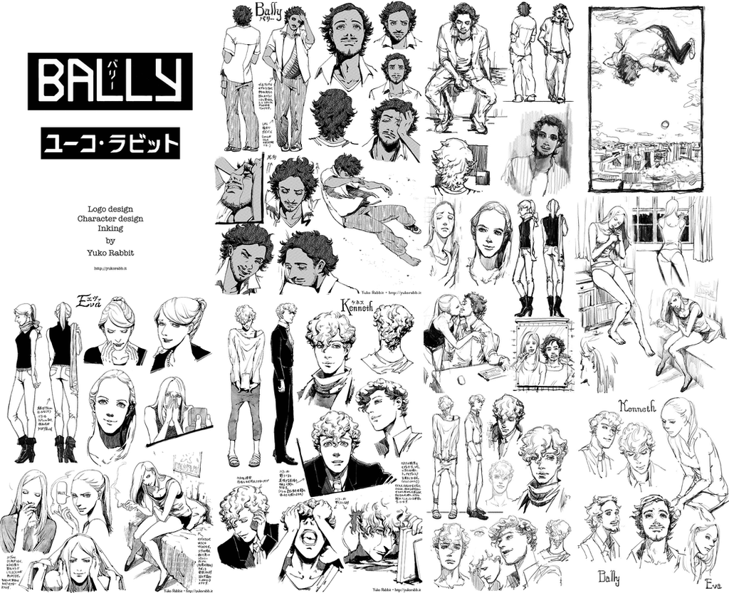 Bally - Character Sketches by YukoFukushima
