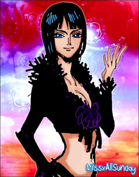 Nico Robin by MissxAllSunday