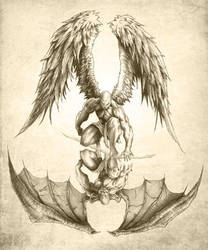 Angels and Demons - Reflection by Fantasy-Fellowship