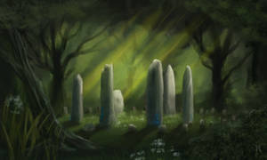 Stone circle by Ranarh by Fantasy-Fellowship