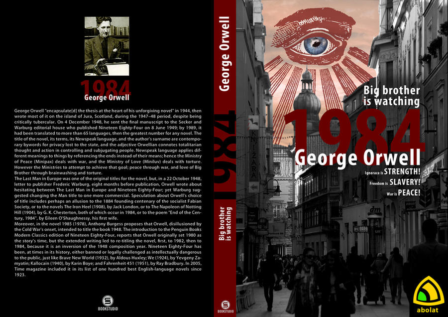 the structure of the totalitarian regime depicted in george orwells nineteen eighty four George orwells 1984 life under a totalitarian regime from an average 1984 the traits of society in george orwell's nineteen eighty-four (1984.