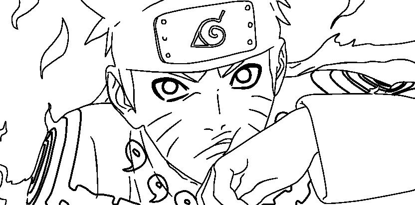 Naruto modo sennin para colorear - Imagui