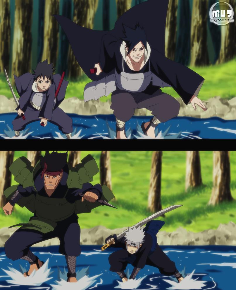 Uchiha vs Senju by MaRaYu9  Uchiha Izuna Vs Tobirama Senju